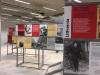 I pannelli della mostra