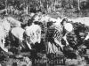Donne detenute estraggono la torba. 1928. Collezione di Jurij Brodskij