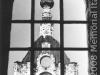 Il campanile della cattedrale con la stella a cinque punte al posto della croce (
