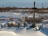 """Kaplitsa""monumento eretto dai lituani nel 1994 per le proprie vittime a Vorkuta"