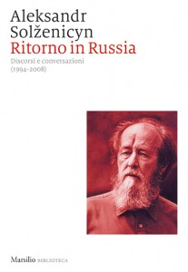 copertina libro Ritorno in Russia di Aleksandr Solzenicyn