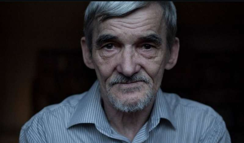 immagine del volto di Jurij Dmitriev